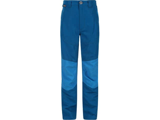 Regatta Sorcer Mountain IV Trousers Kids, petrol blue/blue aster
